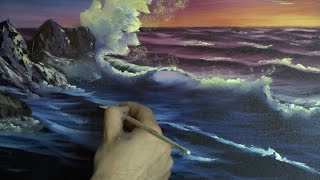 Sunset Sea - Painting Lesson