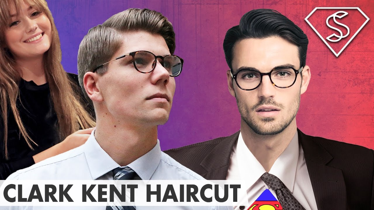 Clark Kent Hairstyle Superman Henry Cavill Inspired Style Mens