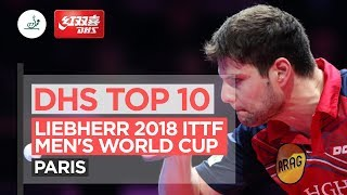DHS ITTF Top 10 - 2018 Men's World Cup
