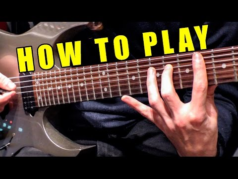 How To Play Hello (metal cover by Leo Moracchioli)