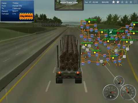 18 wheels of steel me deilvering cargo pt I |