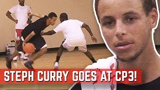 Steph Curry GOES AT Chris Paul At CP3 Camp! UNSEEN Footage From 2010