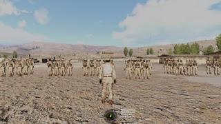 ARMA 3 - Massive Assault on Russian Base (90 Player Cap)