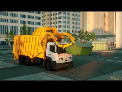 Gerçek şehir kahramanları - Çöp kamyonu George