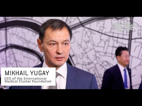 Interview of Mikhail Yugay, CEO of the Moscow International Medical Cluster about 'future hospital'