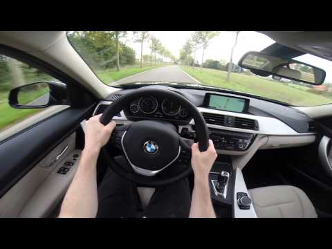 BMW 3 Series 2015 320d POV test drive GoPro
