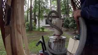 Циклон - пылеуловитель.(Краткий обзор моего пылеуловителя. Скажу одно! Он реально эффективен!, 2015-08-02T18:42:04.000Z)