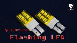 Bagaimana Jadinya,,, Jika LED Berkedip Digunakan untuk Sign.