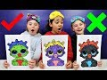 Download 3 MARKER CHALLENGE With LOL Surprise Baby Dolls | Toys AndMe