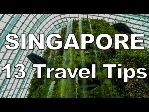 13 Tips for an AWESOME Trip to Singapore