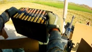 50 CAL MACHINE GUN SUPPRESSING TALIBAN IN AFGHANISTAN | FUNKER530