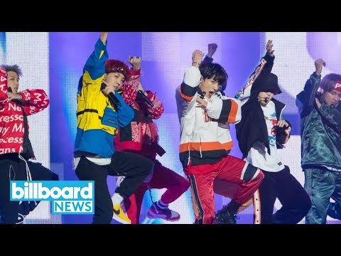 BTS Stops By 'Ellen' to Perform 'Mic Drop' | Billboard News