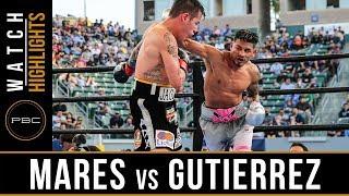 Mares vs Gutierrez HIGHLIGHTS: October 14, 2017 - PBC on FOX