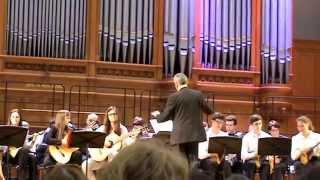 Отчетный концерт школы Прокофьева, народный оркестр 2