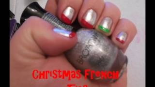 Christmas French Tips