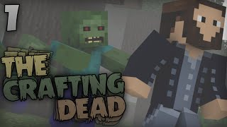 Minecraft: The Crafting Dead - Episode 1 - Finding Cover!