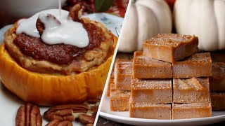 Fall Season Pumpkin Desserts! • Tasty Recipes