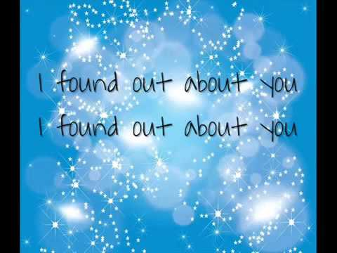 Gin Blossoms Found out about you lyrics