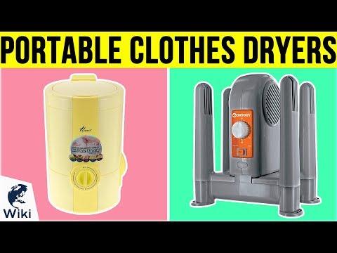 10-best-portable-clothes-dryers-2019