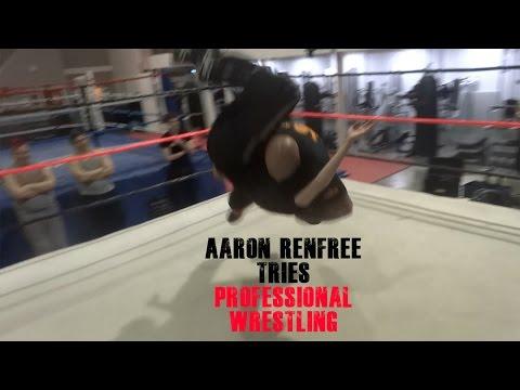 Aaron Renfree tries Professional Wrestling - LSJ News