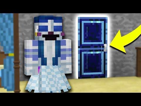 BALLORA'S SECRET ROOM?! Minecraft FNAF Sister Location