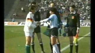 Fyrnationsturnering 1988, Argentina-Västtyskland