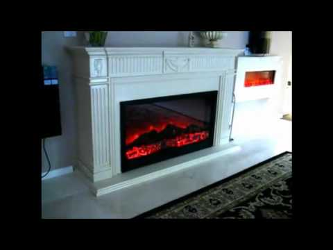 Electric Wall Mount Fireplace Vancouver bc Canada info@waterfallnow.com