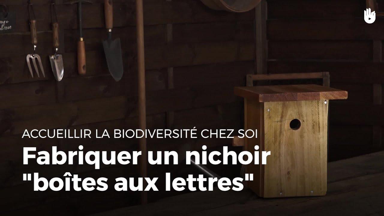 fabriquer un nichoir boite aux lettres fabriquer des abris pour animaux youtube. Black Bedroom Furniture Sets. Home Design Ideas