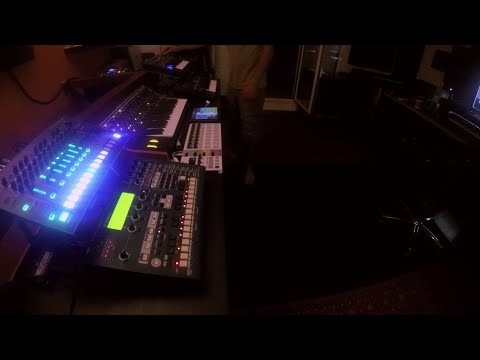 """Live Hardware Synth Jam - """"Melodrama"""" (Melodic Techno) performance by John Lead"""