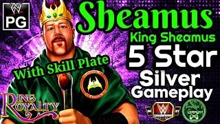 *स्किल प्लेट के साथ* शेमस किंग शेमस 5 स्टार सिल्वर गेमप्ले / डब्ल्यूडब्ल्यूई चैंपियंस screenshot 3