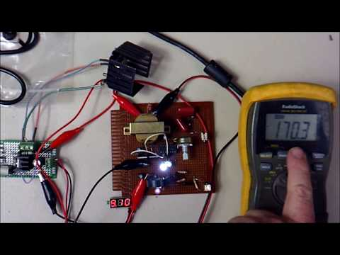 CD4047 High Voltage Power Inverter