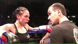 Julia Tyson vs Anna Köster 12 12 15  Kickmas