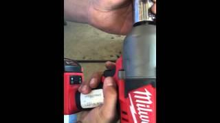 Milwaukee 1/2 inch cordless impact wrench