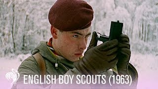 English Boy Scouts Brave The Snow (1963) | Vintage Fashion