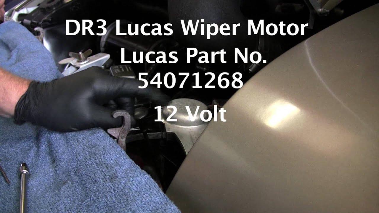 Lucas Tvs Wiper Motor Wiring Diagram Door Lock Actuator Dr3 Impremedia