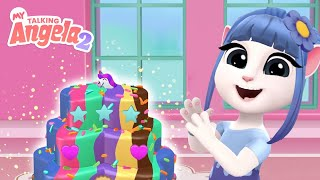💖🎂 Bake Yummy Cakes With Talking Angela! NEW My Talking Angela 2 Gameplay