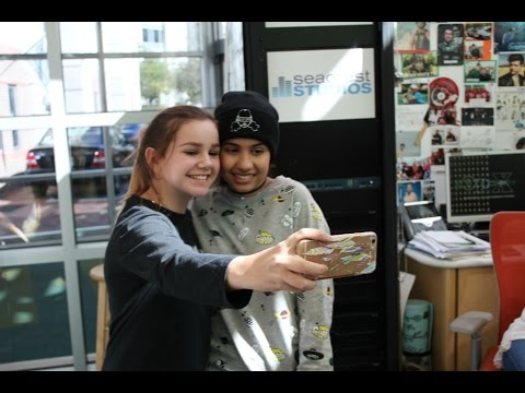 Smiles & Selfies with Alessia Cara at Seacrest Studios Atlanta