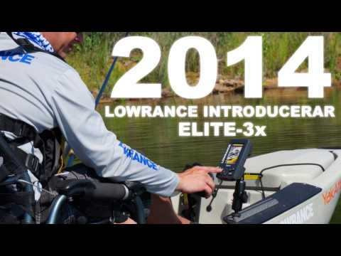Lowrance Elite-3x Launch Video (SWE)