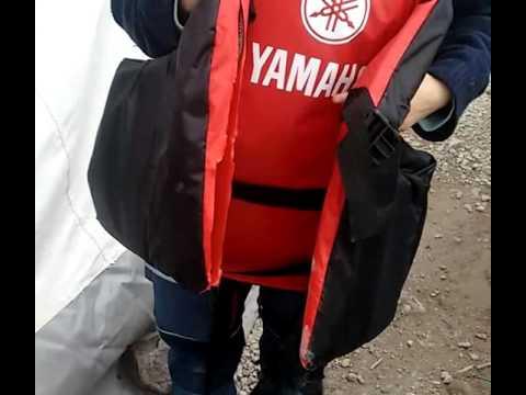 Lesvos Refugee Life Jacket Fake Yamaha Youtube