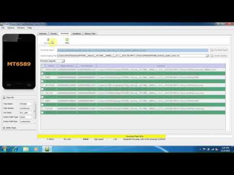 Hisense HS-U980 Flashing By Smart Phone Flash Tool.