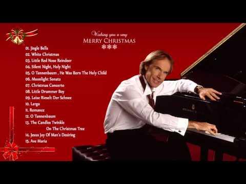 Christmas Songs By Richard Clayderman  | Christmas Instrumental Songs Playlist