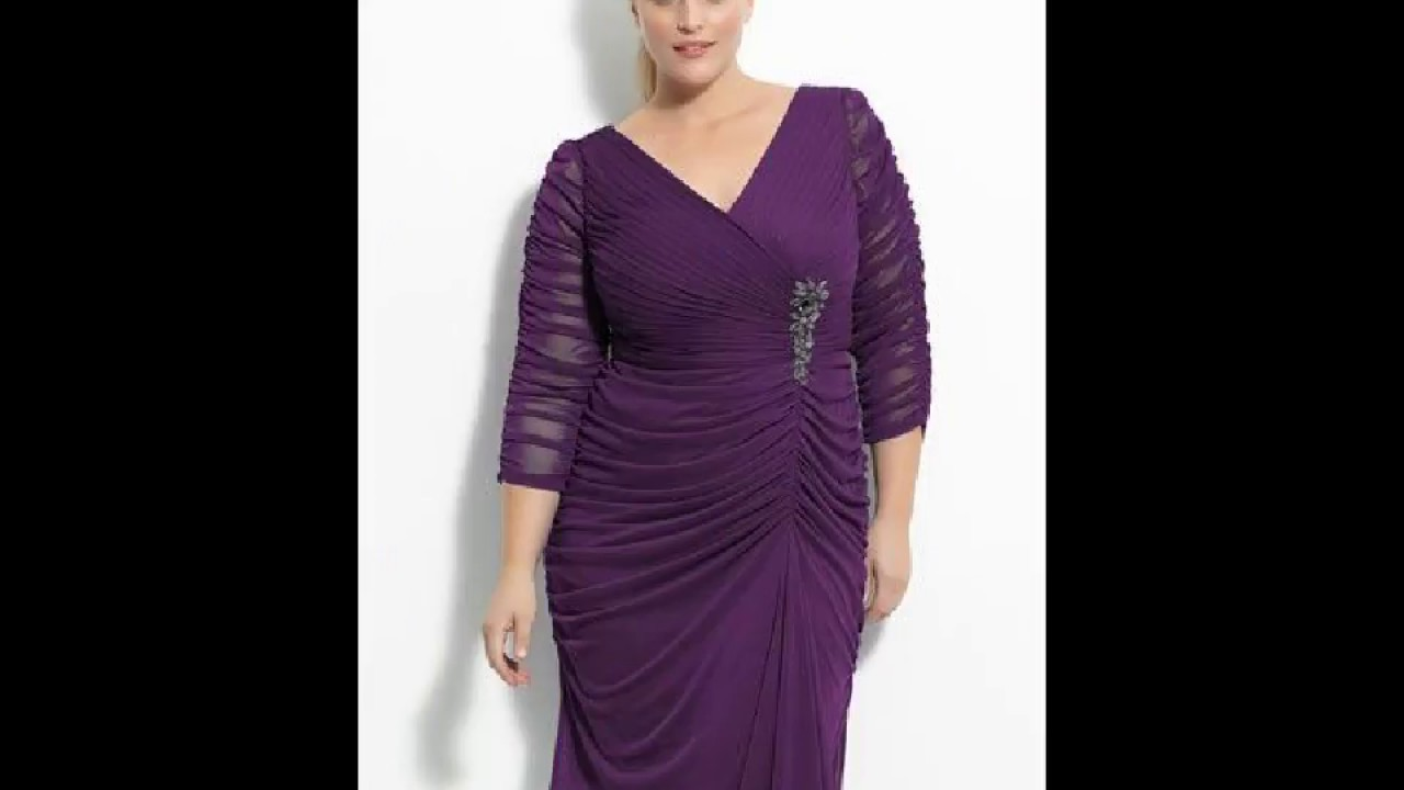 Plus Size Formal Dresses For Apple Shape Body Type|Apple Shape Body Fashion