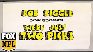 Rob Riggle presents 'We're just two picks' | Riggle's Picks | FOX NFL