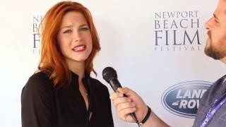Courtney Hope - 2014 Newport Beach Film Festival - Swelter