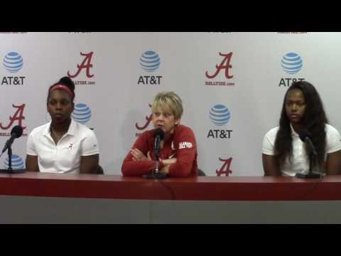 Alabama Women's Basketball head coach Kristy Curry introduces 2016-17 season