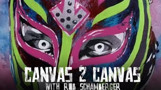 The Best Rey Mysterio Painting? WWE Canvas 2 Canvas