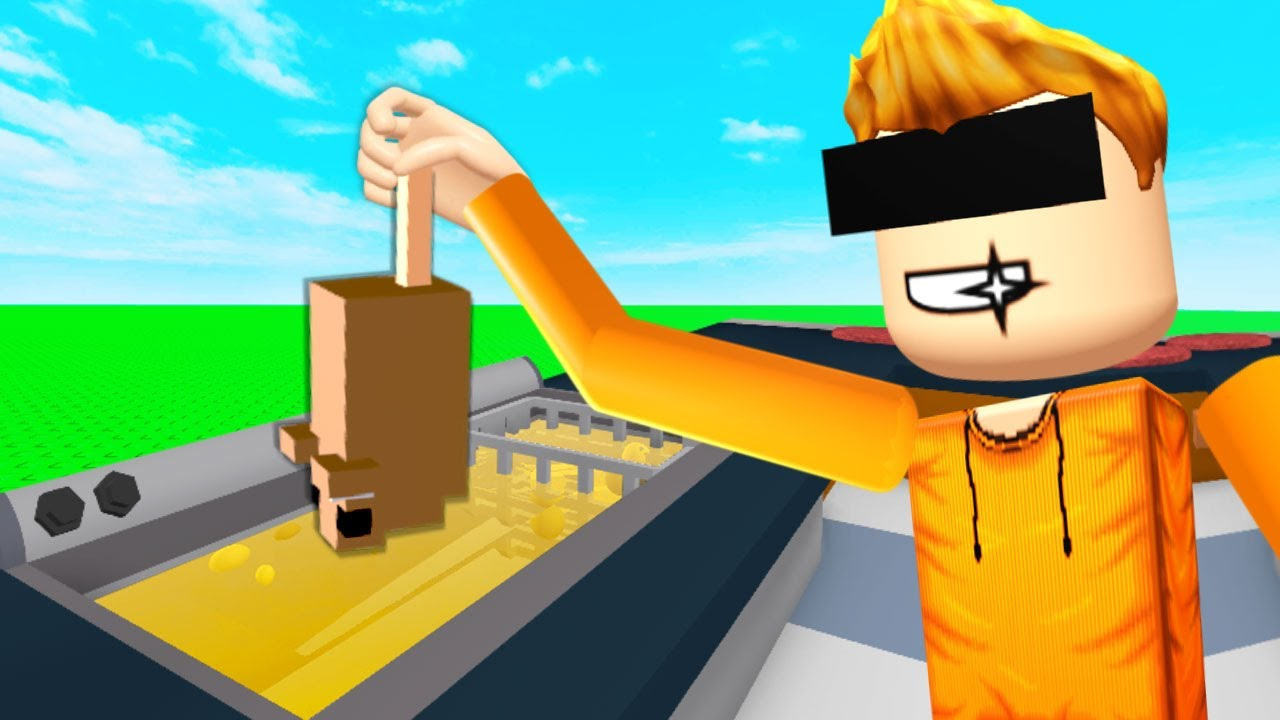 ROBLOX COOKING in VR.. (cook burgers)
