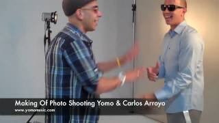 Yomo - Making of Photo Shooting con Carlos Arroyo