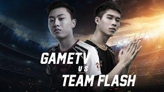 GameTv vs Team Flash - Đấu Trường Danh Vọng Mùa Xuân 2018 - Garena Liên Quân Mobile
