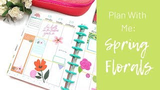 Plan With Me | Happy Year | Spring